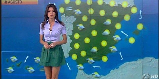 Pierden 1,7 millones de euros por la presentadora del tiempo de Antena 3 (VÍDEO)