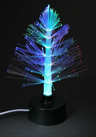 USB Fibre Optic Christmas Tree #Christmas #Decor #Holidays - Shimmering Christmas Trees Unique Christmas Decor Ideas