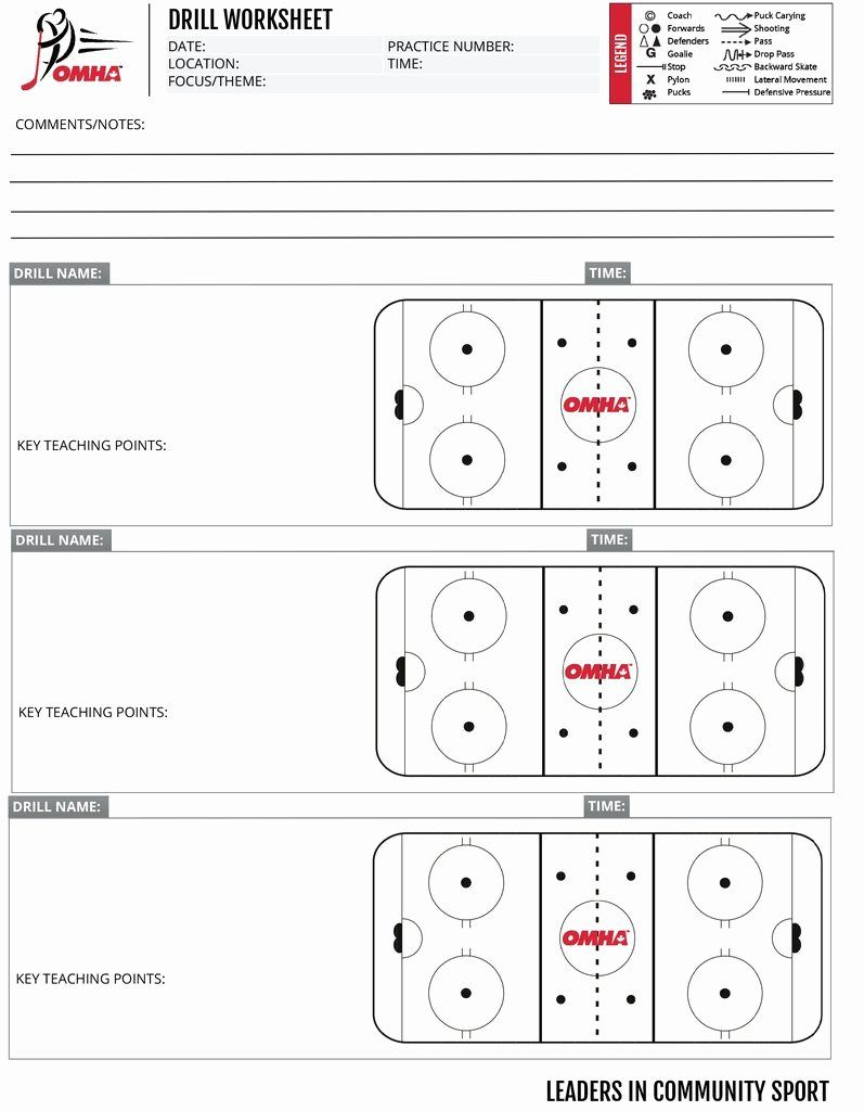 Hockey Practice Plan Template Fresh Omha Practice Drill Sheets Business Letter Format Business Plan Template Free Business Plan Template