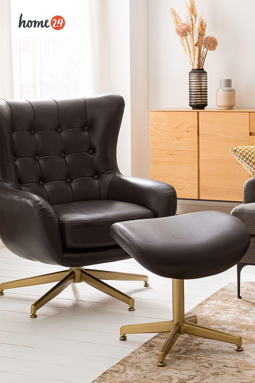 Hochwertige Kunstledersessel Sessel Einzelsessel Haus Deko