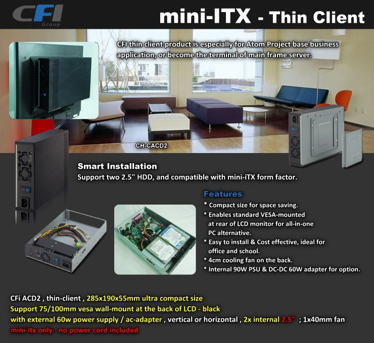 mini-ITX-thin client