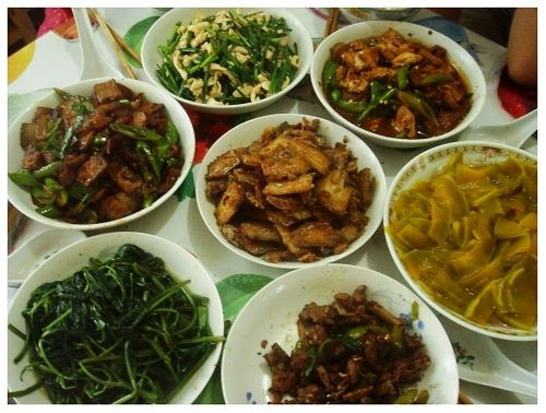 Chinese Daily Meal Daily Meals Real Chinese Food Meals