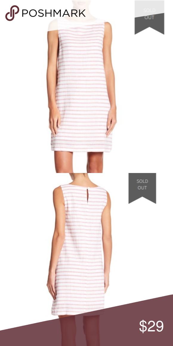 1353b3806a Beachlunchlounge Linen Dress Alina Lychee Size  Medium Chest (pit to pit)   19