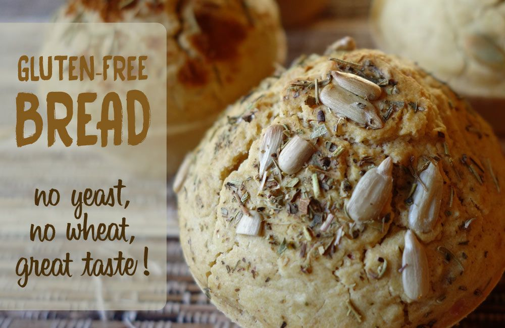 Substitute for yeast in bread: dough recipe with baking ...