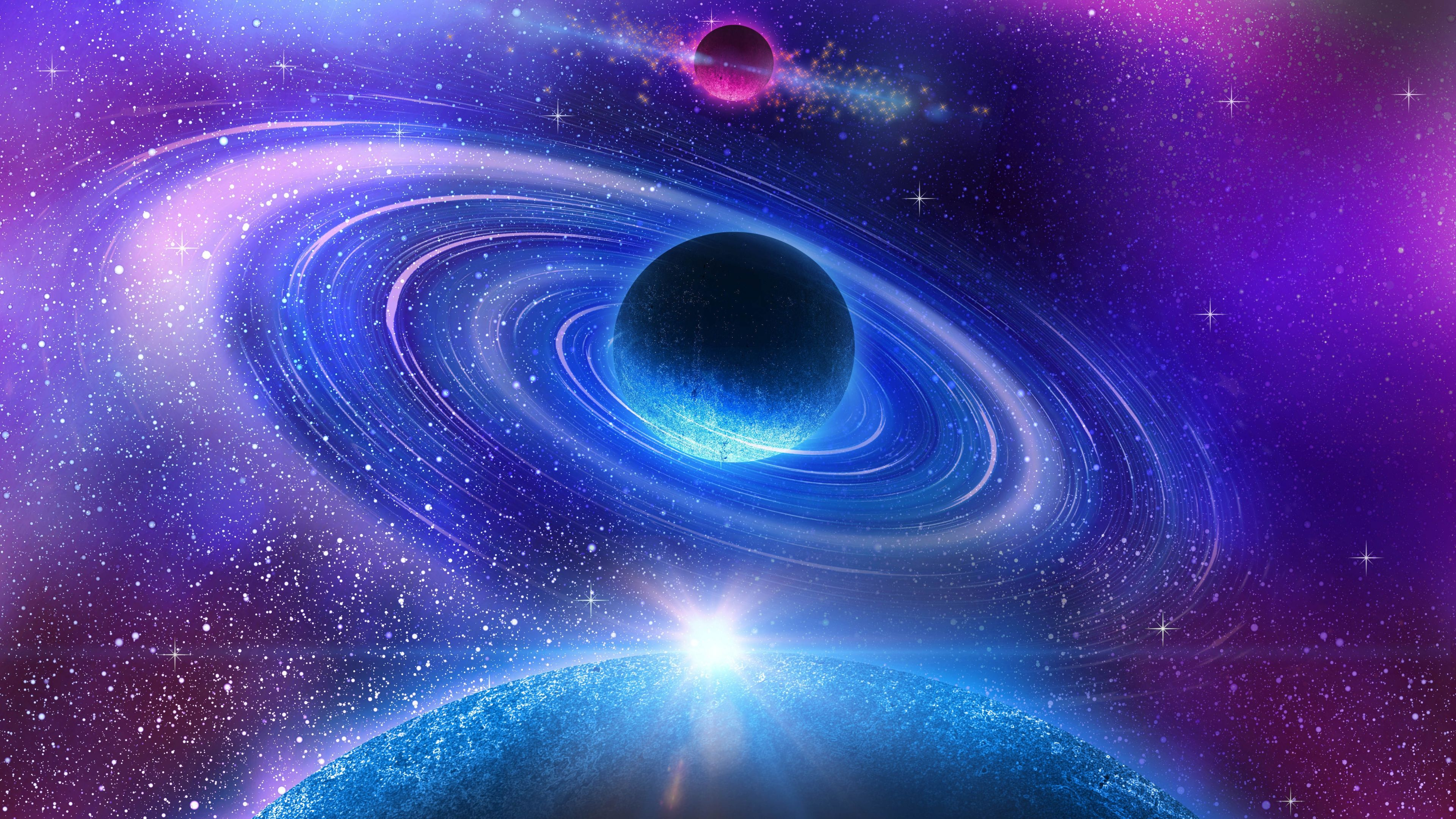 Ultra hd wallpaper pink violet view in space kaka - Pink space wallpaper ...