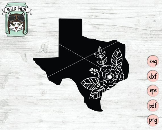 Texas svg file, Texas cut file, Texas Silhouette svg, Texas