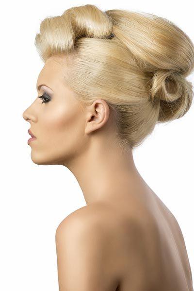 Haarteile Für Hochsteckfrisuren Google Suche Hair Fashion