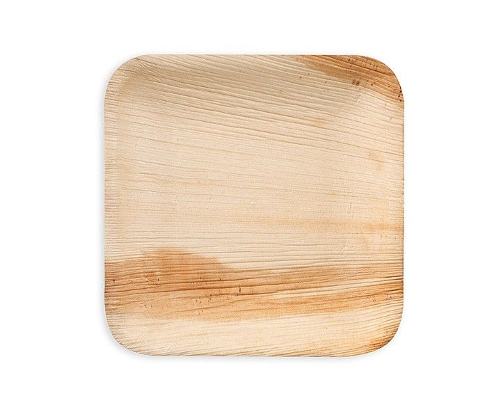 Biodegradable/disposable plates made from fallen leaves of the Areca Palm. Cute idea for  sc 1 st  Pinterest & Leaf \u0026 Fiber Square 6in Side Plate Bulk 100/CS | Side plates ...