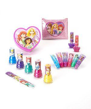 Look what I found on #zulily! Disney Princess Lip Gloss & Nail Polish Set by Disney #zulilyfinds