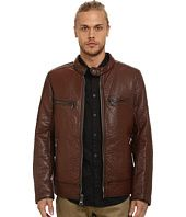 Marc New York by Andrew Marc  Gramercy Bubble P/U Moto Jacket w/ Chest Zipper Pockets
