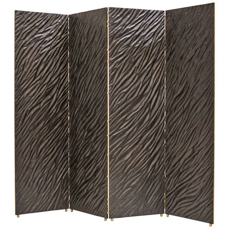 Fallingwater Screen | From a unique collection of antique and modern screens at https://www.1stdibs.com/furniture/more-furniture-collectibles/screens/