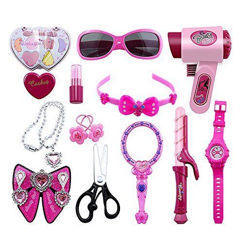 Barbie Ultimate Nail Dryer Set: Pretend Kids Makeup SmartNee Toddler Toys Kits Salon Fake