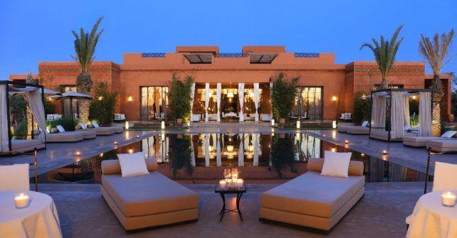 Location DUne Villa Marrakech Avec Piscine Chauffe  Voyage