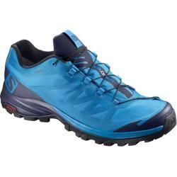 Hiking shoes & hiking boots for men -  Salomon Outpath Gtx men's lightweight hiking shoes, size 44 in blue SalomonSalomon  - #amp #boots #hiking #homeaccessoriesdecorluxury #homeaccessorieslivingroom #homeaccessoriesluxury #homeaccessoriesmodern #men #shoes