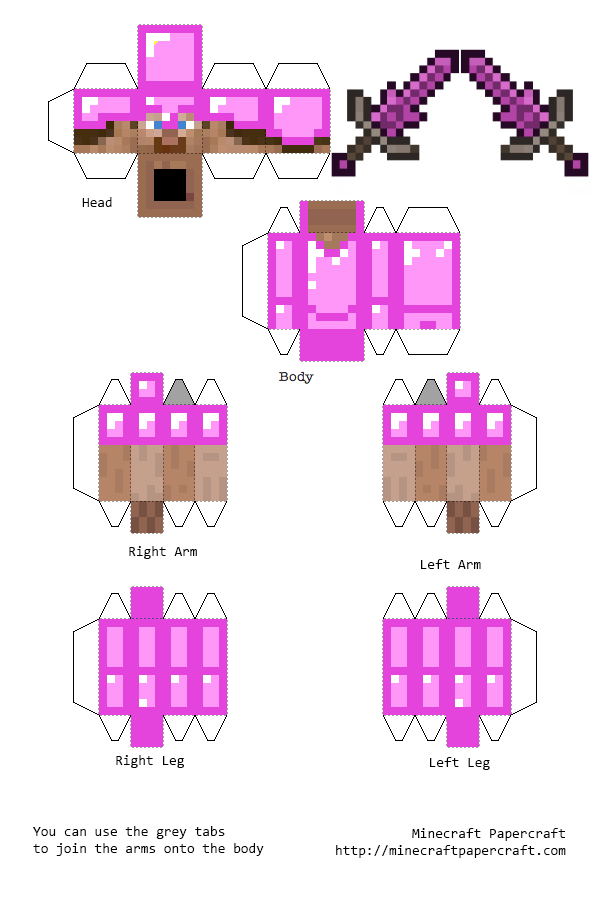 Papercraft Gravitite Armour Steve With Sword Aether Minecraft Printables Minecraft Crafts Minecraft Templates