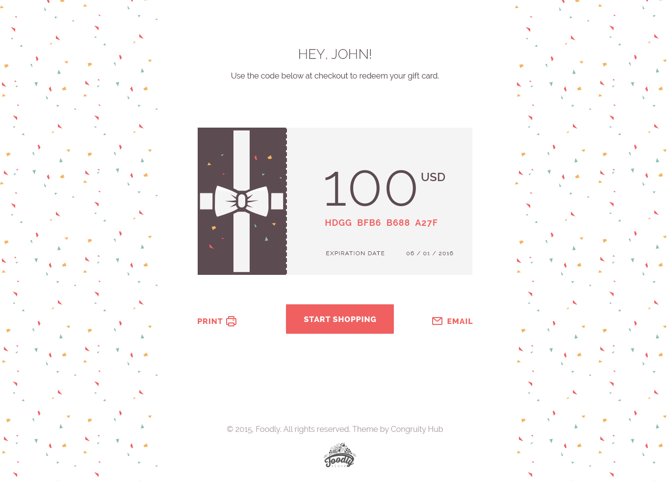 Dribbble - foodly-gift-cards-desktop.png by Olia Gozha | Design ...