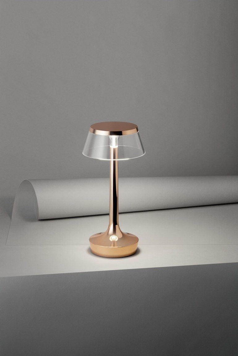 Led Desk Lamp With Rechargeable Battery Bon Jour Unplugged By Flos Desk Lamp Table Lamp Led Table Lamp