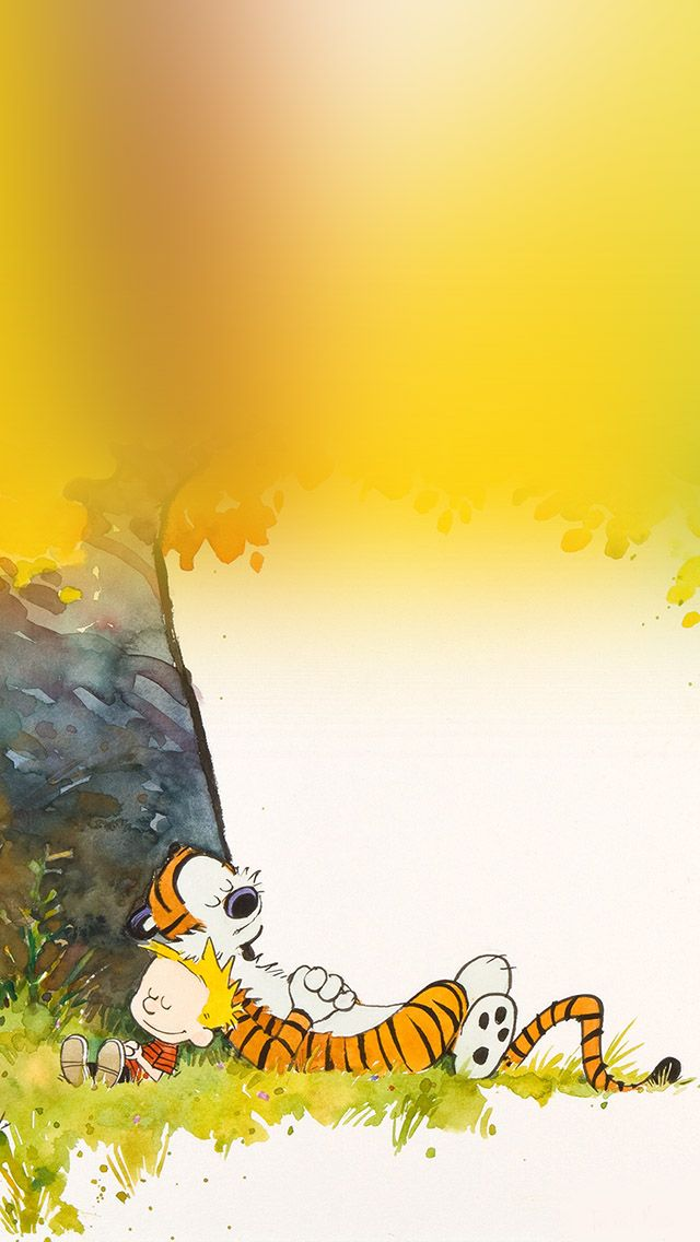 Calvin And Hobbes Sleeptime Iphone Wallpapers Calvin And Hobbes Wallpaper Calvin And Hobbes Iphone Background Wallpaper