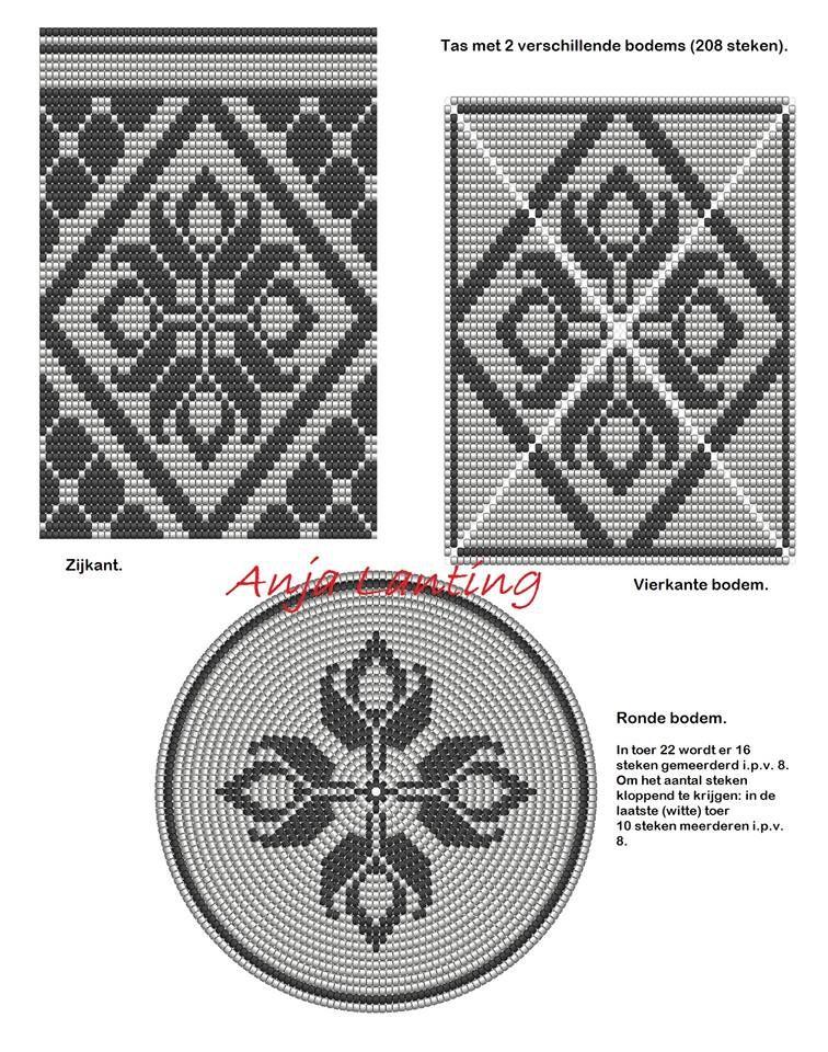 Wayuu Mochila pattern | trapestry | Pinterest | Häkeltasche ...