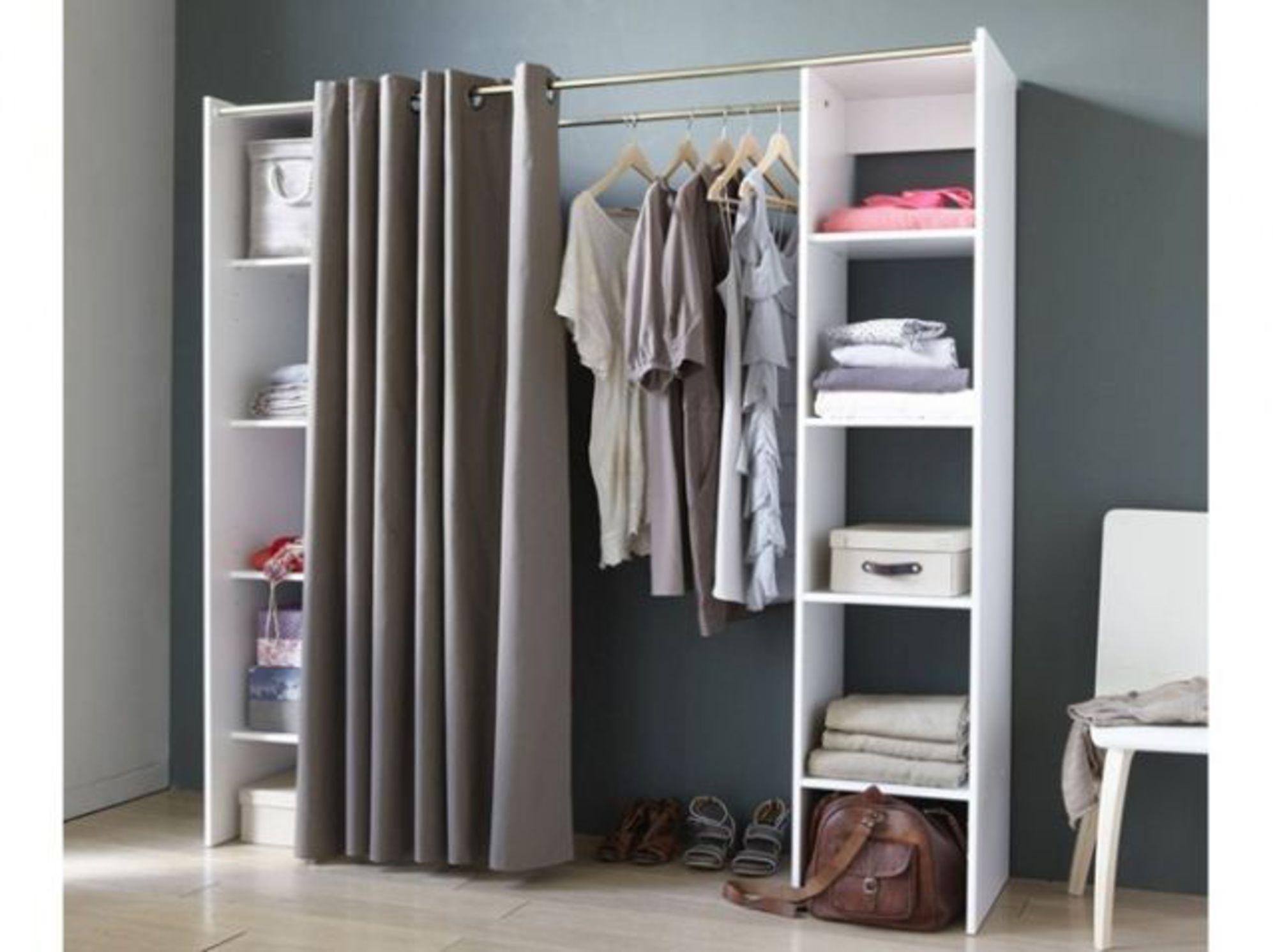 Dressing pas cher et tendance | Rangement maison, Penderie, Amenagement dressing