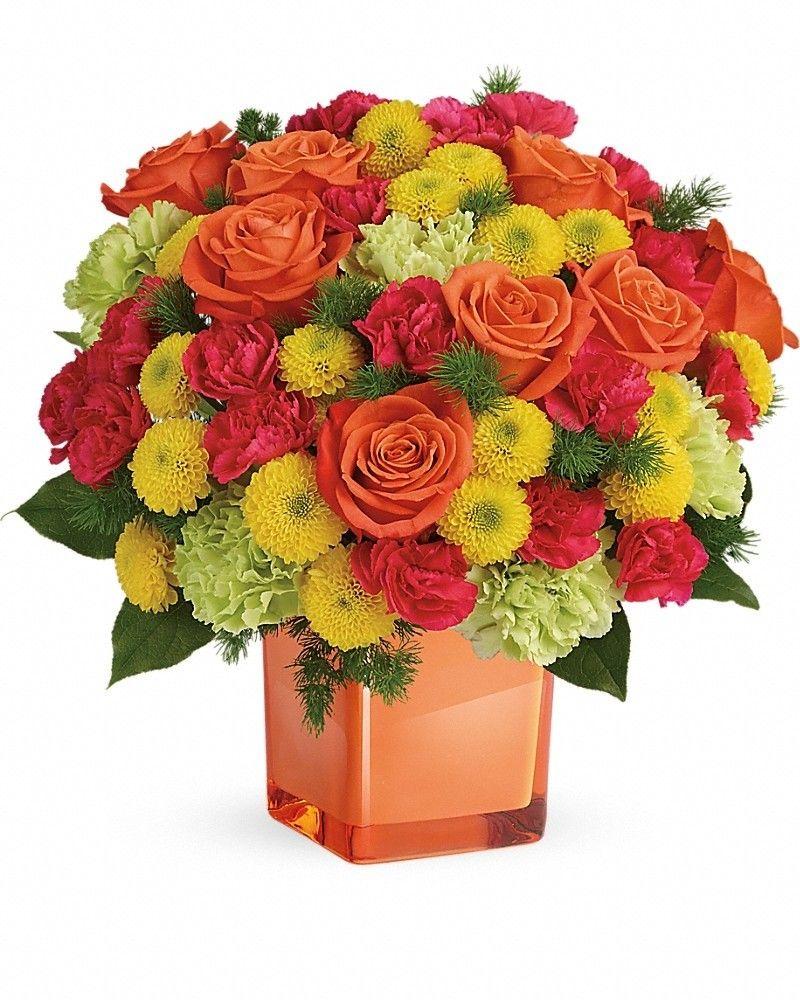 Citrus Smiles Bouquet Flower delivery, Congratulations