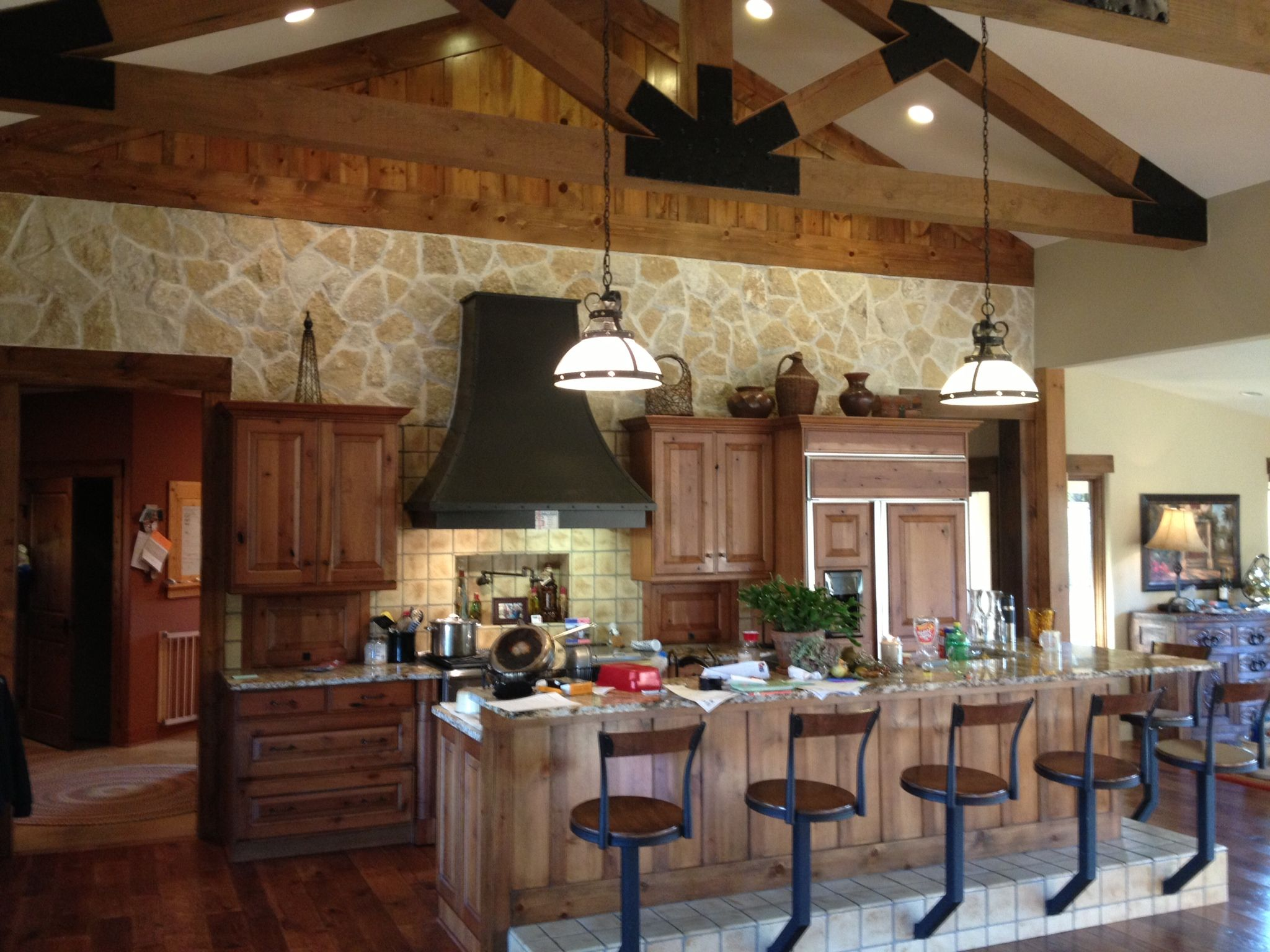 Texas Ranch Inspired Kitchen Kitchen Decor Decor Kitchen Projects