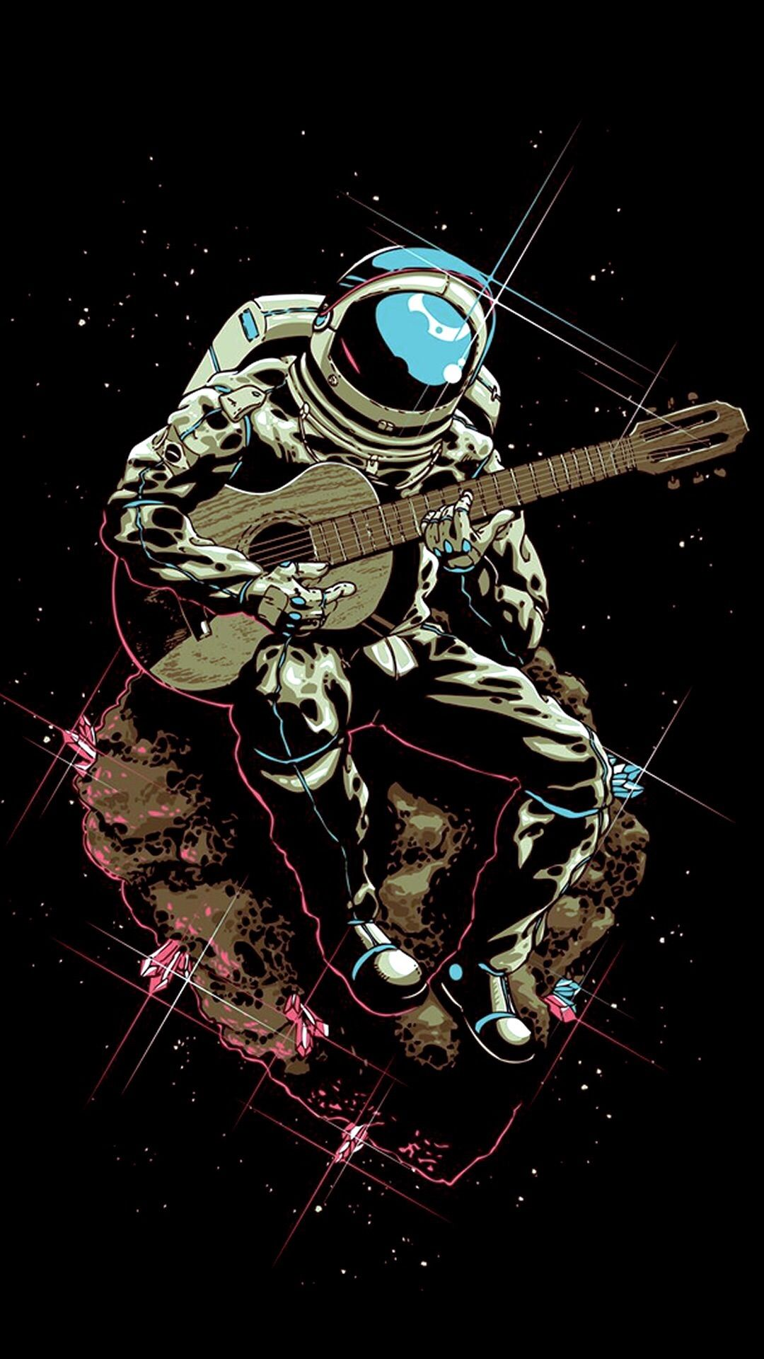 Phone Wallpaper Dump 4 Astronaut Art Space Art Space Cowboys
