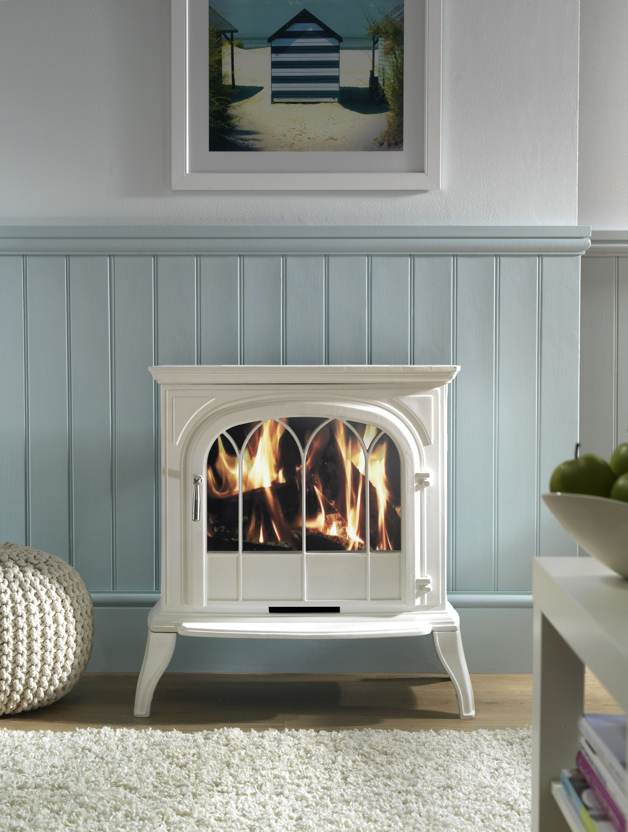 the leirvik lcd electric stove looks and feels like a real. Black Bedroom Furniture Sets. Home Design Ideas