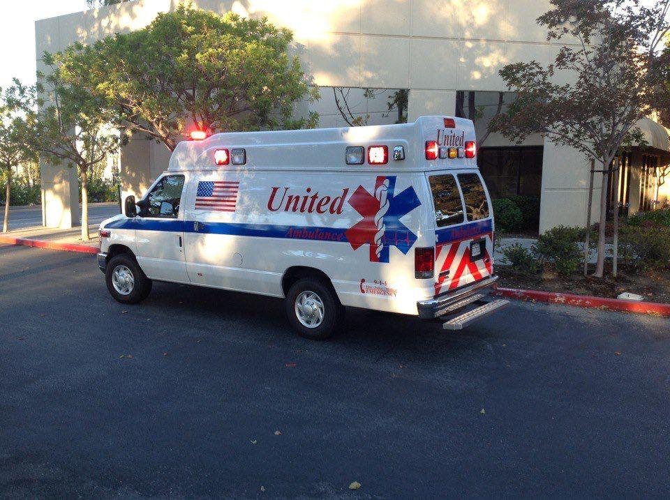 United Ambulance. Foster City, CA. Ambulance, Police