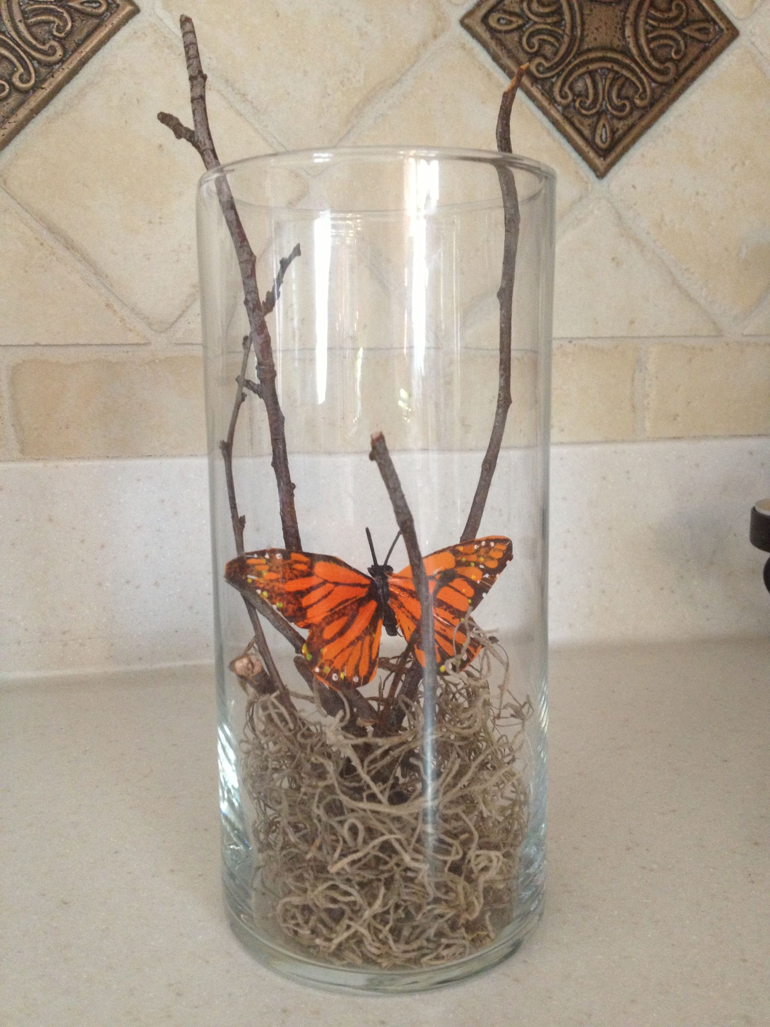 Cheap Spring Decorations: Cute Simple Cheap DIY Spring Decor! Dollar Store Vase