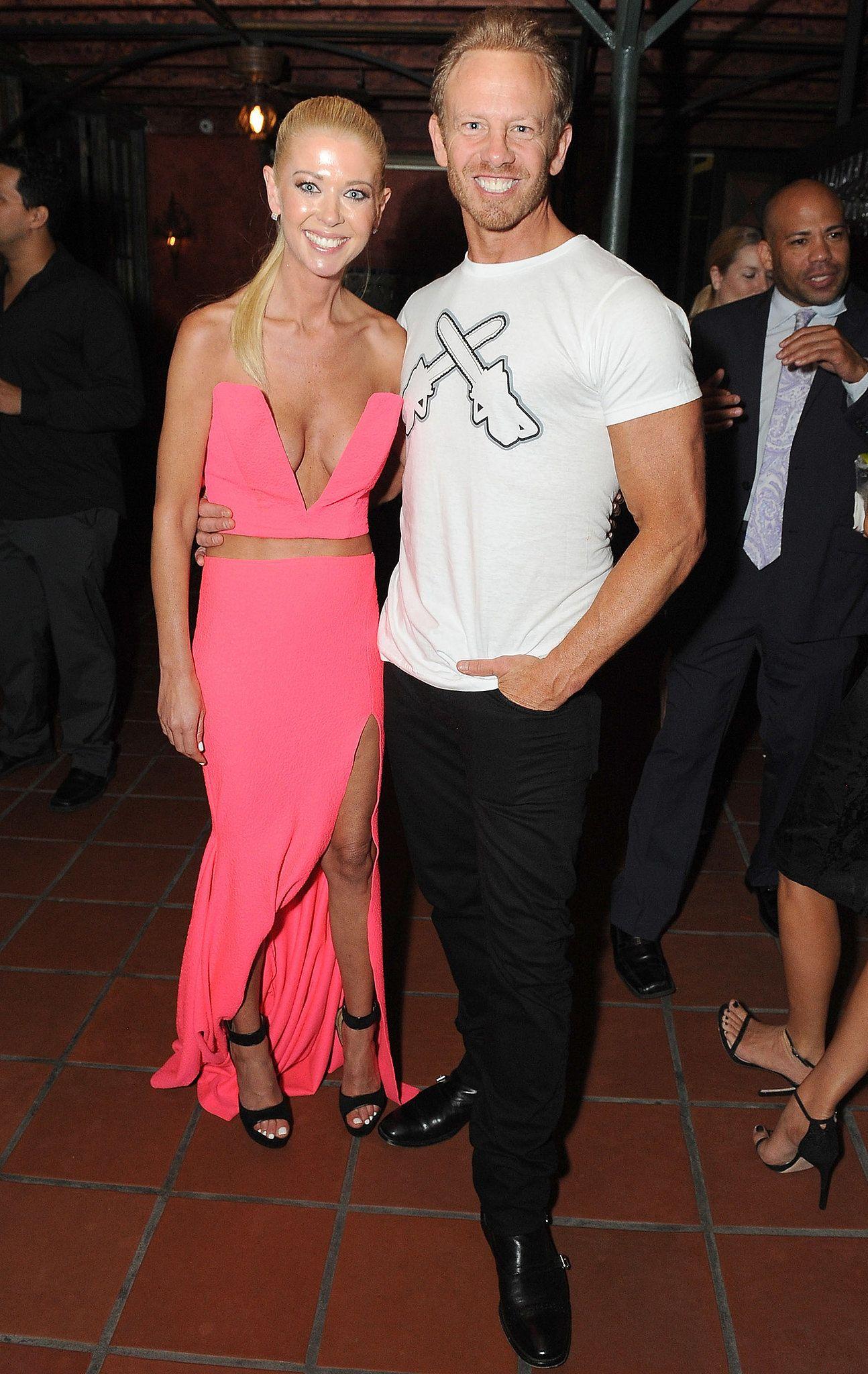 Tara Reid And Ian Ziering Attended A Bash For Sharknado 2
