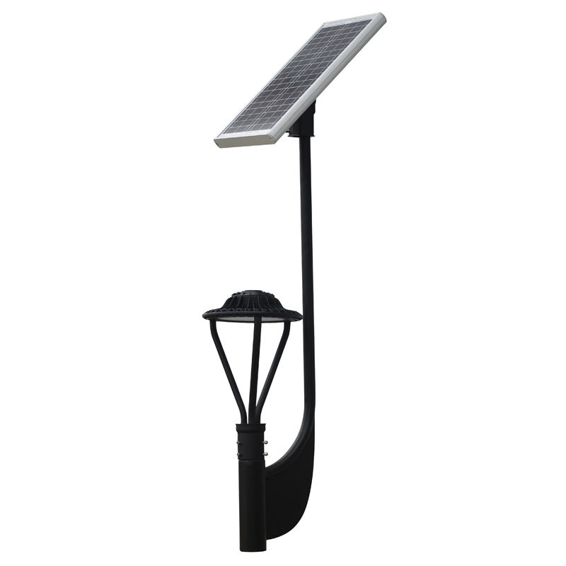 12v 30w 3000 3900 Lumens Solar Post Top Led Area Light Area Lighting Street Lamp Solar Led