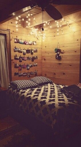 Teen Girl Bedroom Rustic Lights Pictures Country