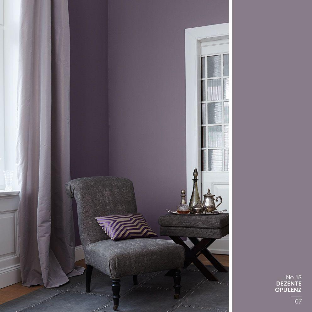 tapeten wohnzimmer ideen grau violett in 9  Baby room colors