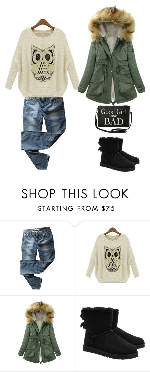 """""""casual.."""" by lea-vehabovic ❤ liked on Polyvore featuring moda, Levi's, UGG Australia ve Torrid"""