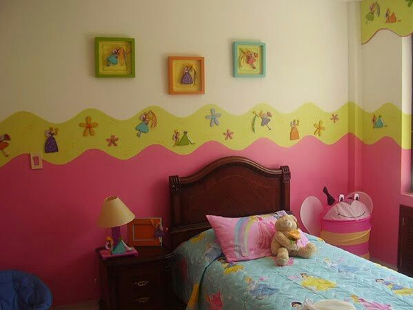 Cuarto para ni as decoracion infantil pinterest - Decoracion de interiores infantil ...