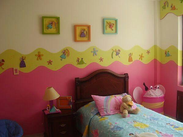 Cuarto para ni as decoracion infantil recamaras de - Decoracion habitacion infantil nina ...