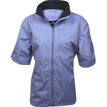 Weather Company Microfiber Short Sleeved Women Rain Jacket - Lavender Size: L | 3balls.com