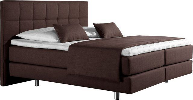 Photo of Box spring bed »Neon«, in 3 mattress types, fine quilting in the head part, 2 degrees of hardness