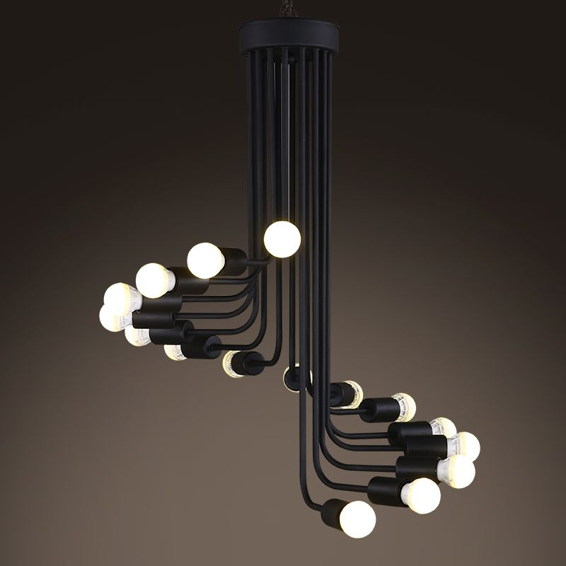 Aliexpress Com Buy American Country 26 36 Lights Loft Iron Dining Room Pendant Staircase Pendant Lighting Pendant Lighting Dining Room Dining Room Pendant