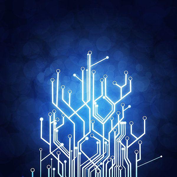 Circuit Board Technology Art Print Picture Technology Posters Circuit Board Design Printed Circuit Board
