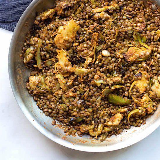 A Vegan's delight right here! Lentils