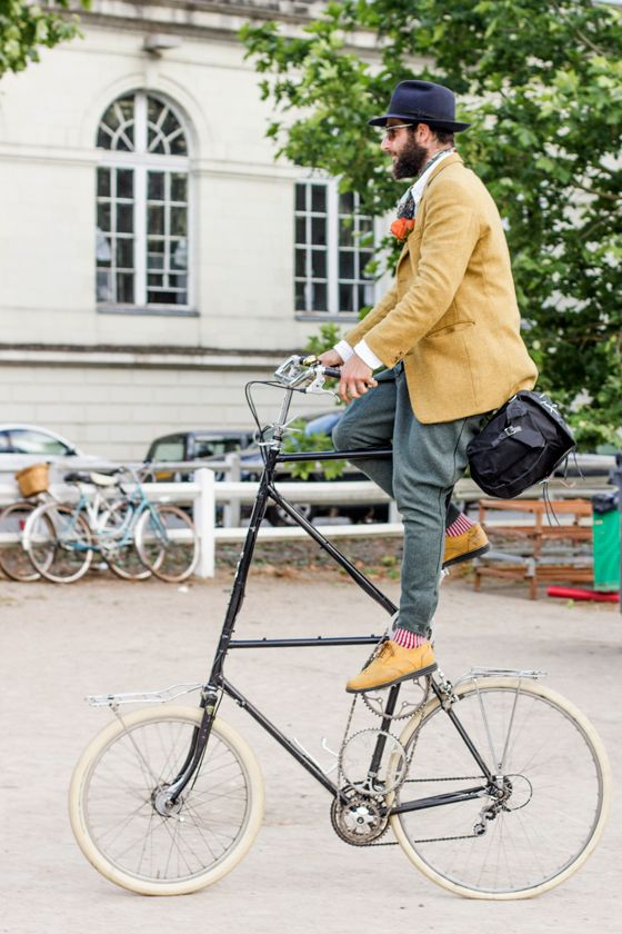 petor Georgallou, tweed, gentleman ride, tall bike, cycle ...