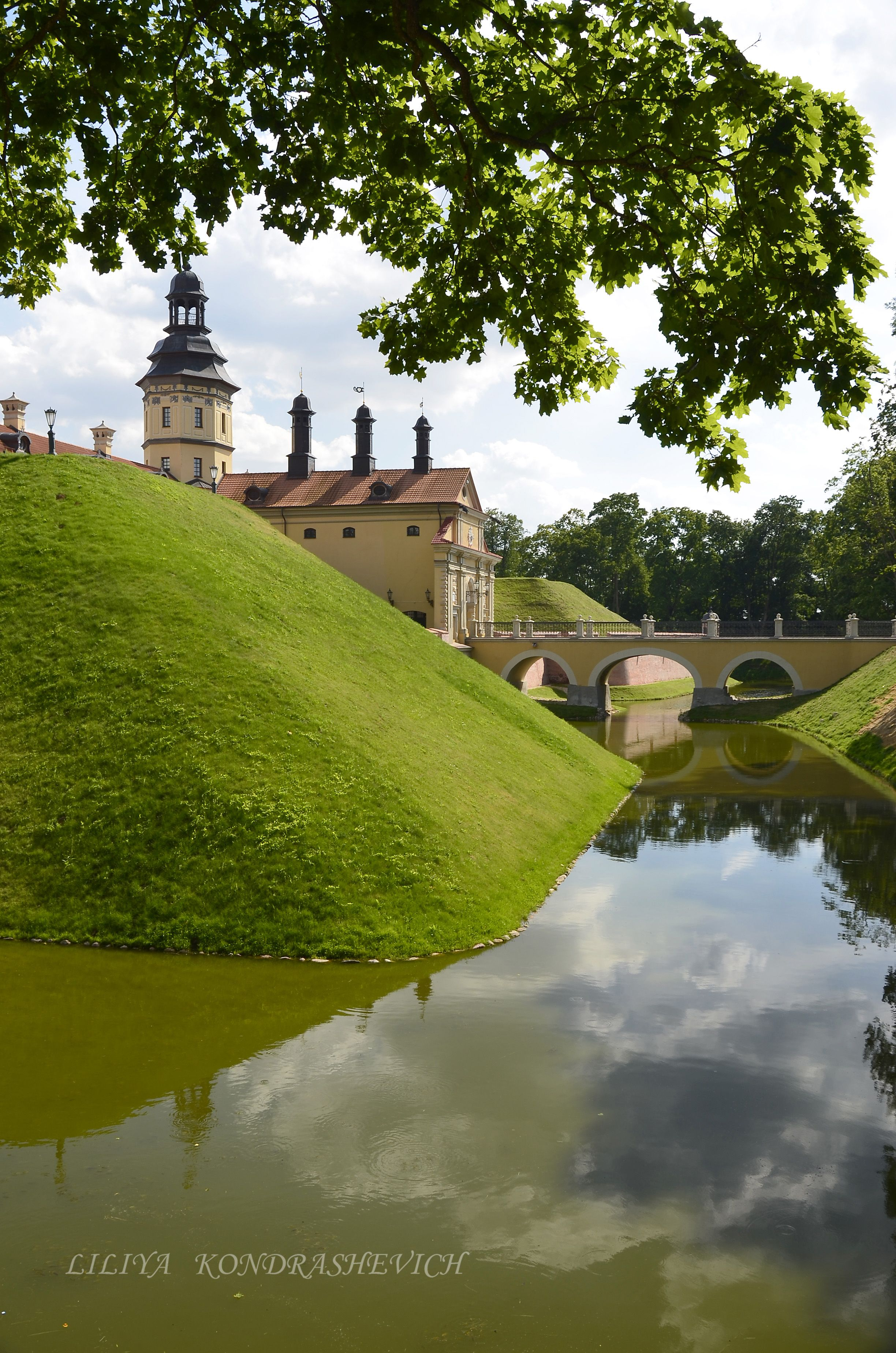 Belarus Nesvizhsky Palace ม ร ปภาพ