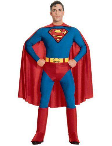 Adult-Costume Superman Adult Extra Large Halloween Costume @ niftywarehouse.com  sc 1 st  Pinterest & Adult-Costume Superman Adult Extra Large Halloween Costume ...
