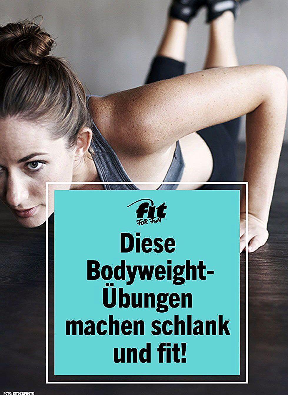 Bodyweight Training ist ideal, wenn du deinen Körper definieren, Muskeln aufbauen sowie schlank und...