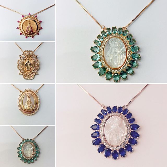 Medallas De Bussy , las medallas más bonitas del mundo de la Virgen #medallas #medallasreligiosas #