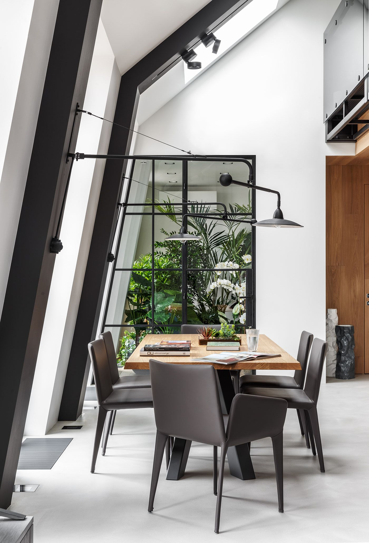 Loft apartments on Behance in 2019 | Interior architecture ...