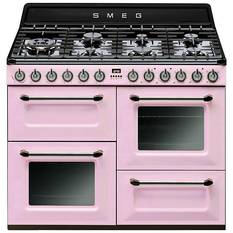 buy smeg tr4110 dual fuel range cooker online at john. Black Bedroom Furniture Sets. Home Design Ideas