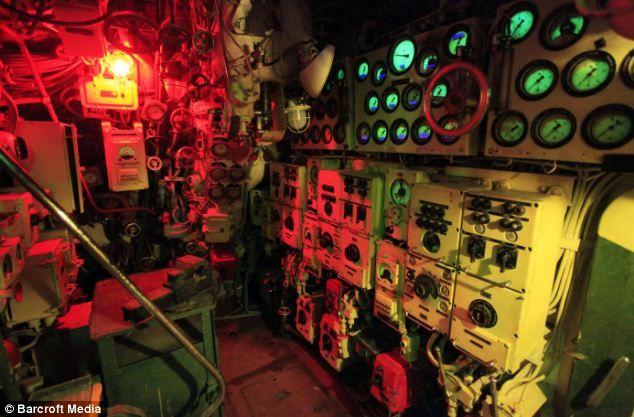 Nuclear sub interiors. SO grub tech.